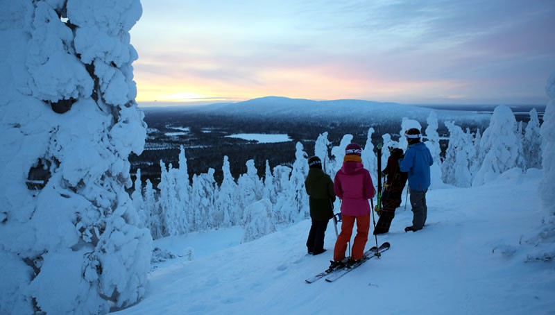 Levi in Lapland