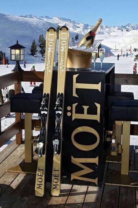 moët en chandon ski's