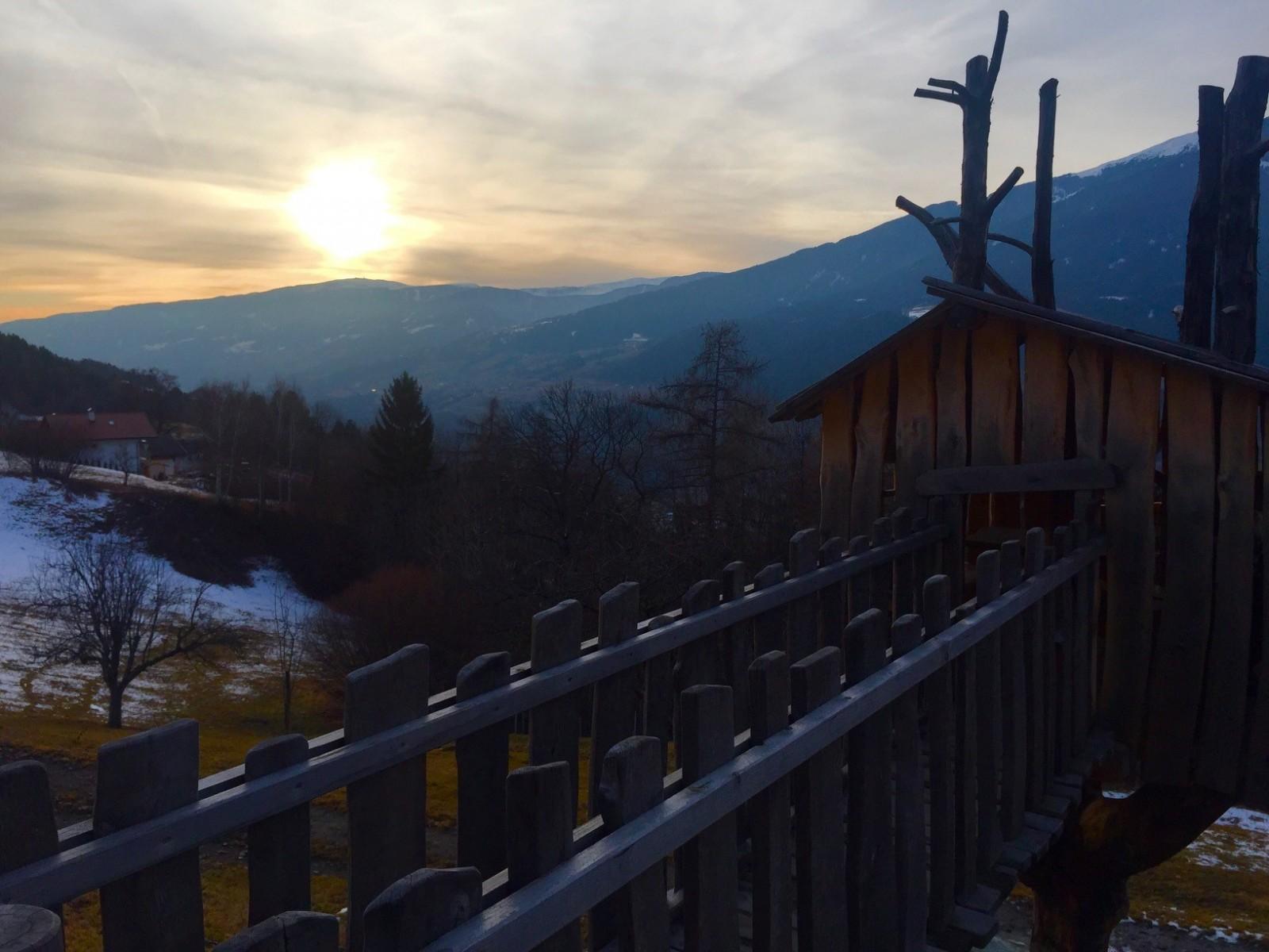 Uitzicht boerderij Schnagererhof