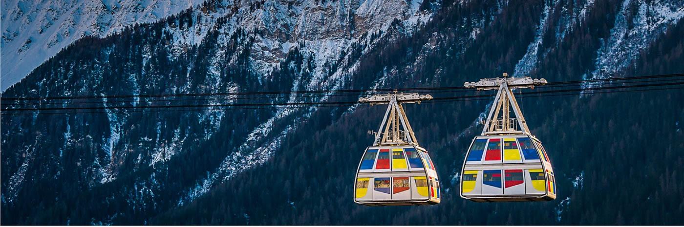 Vanoise Express, de verbinding tussen La Plagne en Les Arcs