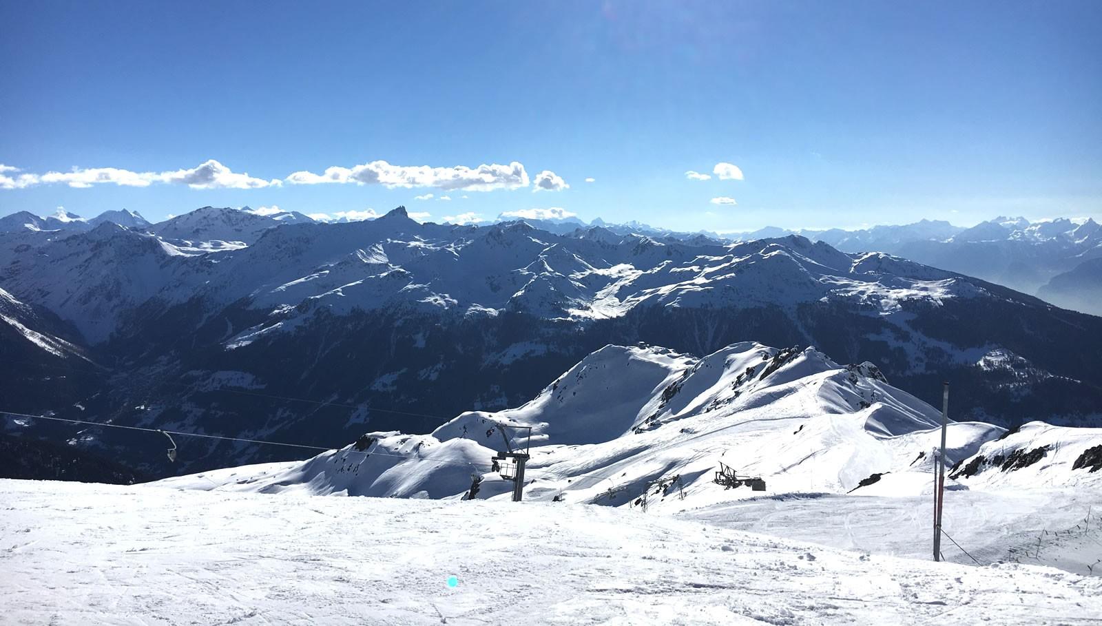 meest sneeuwzekere skigebieden