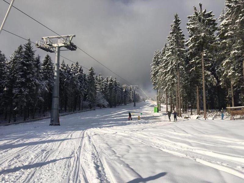 Skilift in Winterberg