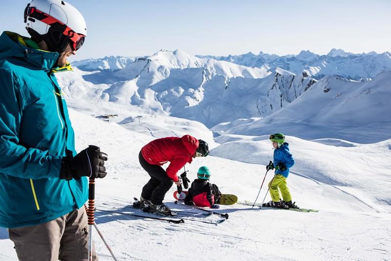 Snowboarden Fiss-Ladis