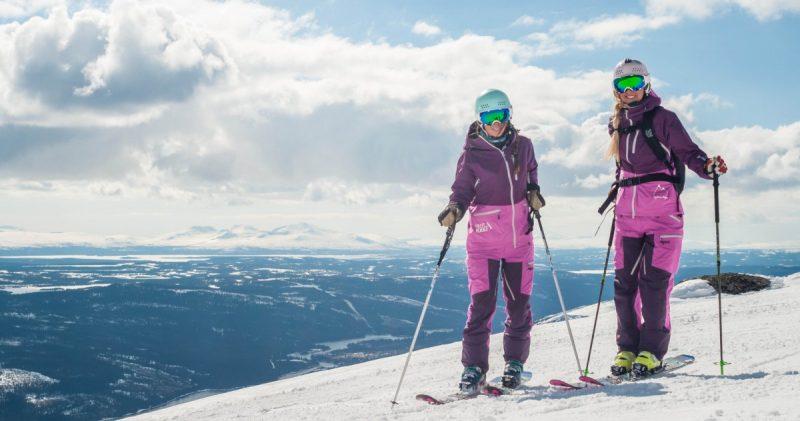 Skiën in Riksgränsen