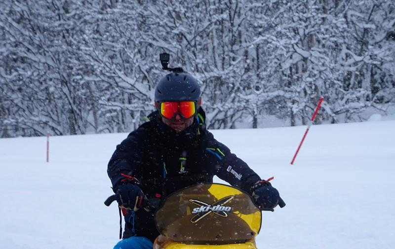 Sneeuwscooter Hemsedal