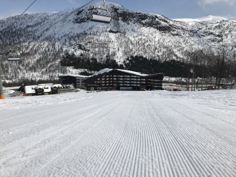 Ski-in/ski-out hotel, Myrkdalen
