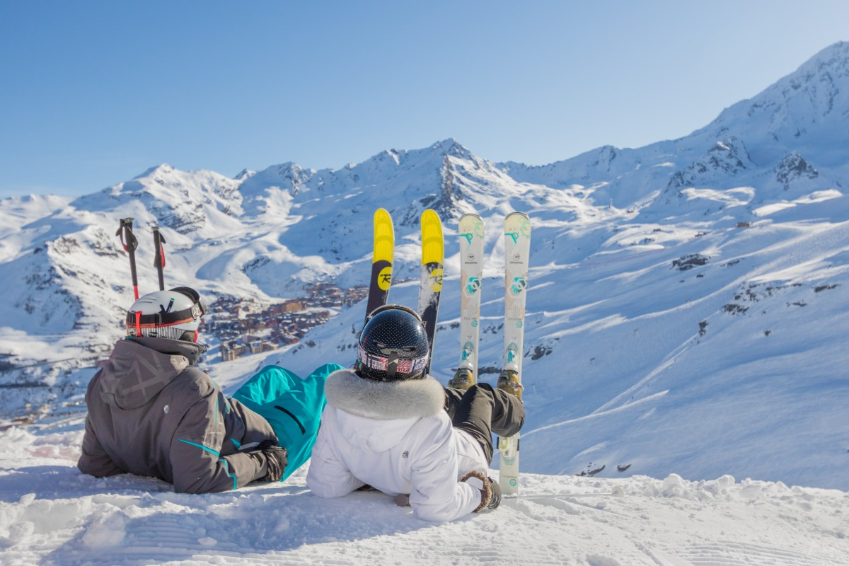 Val Thorens ski village