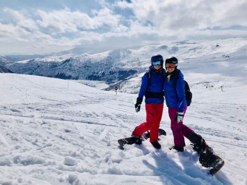 Heerlijk skiën op, of juist buiten de pistes van Myrkdalen