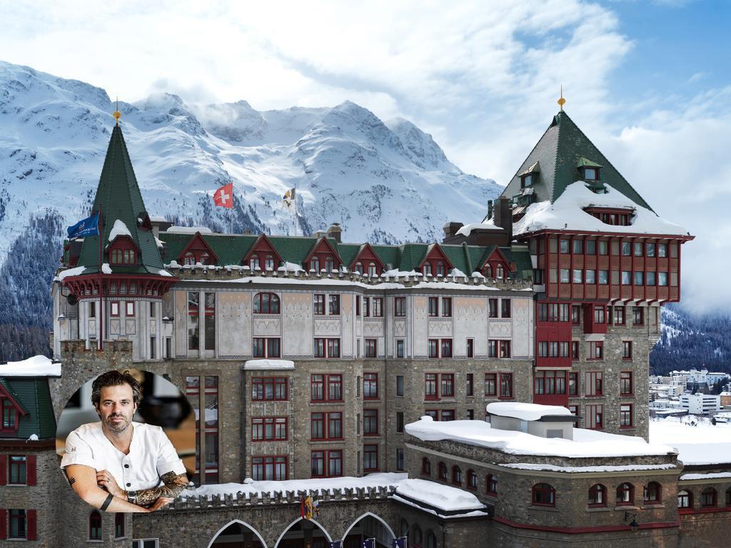 Sergio Herman naar Badrutt Palace Hotel