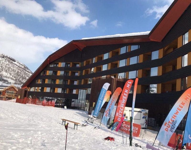 Myrkdalen Hotel, het stralend middelpunt van de Dutchweek