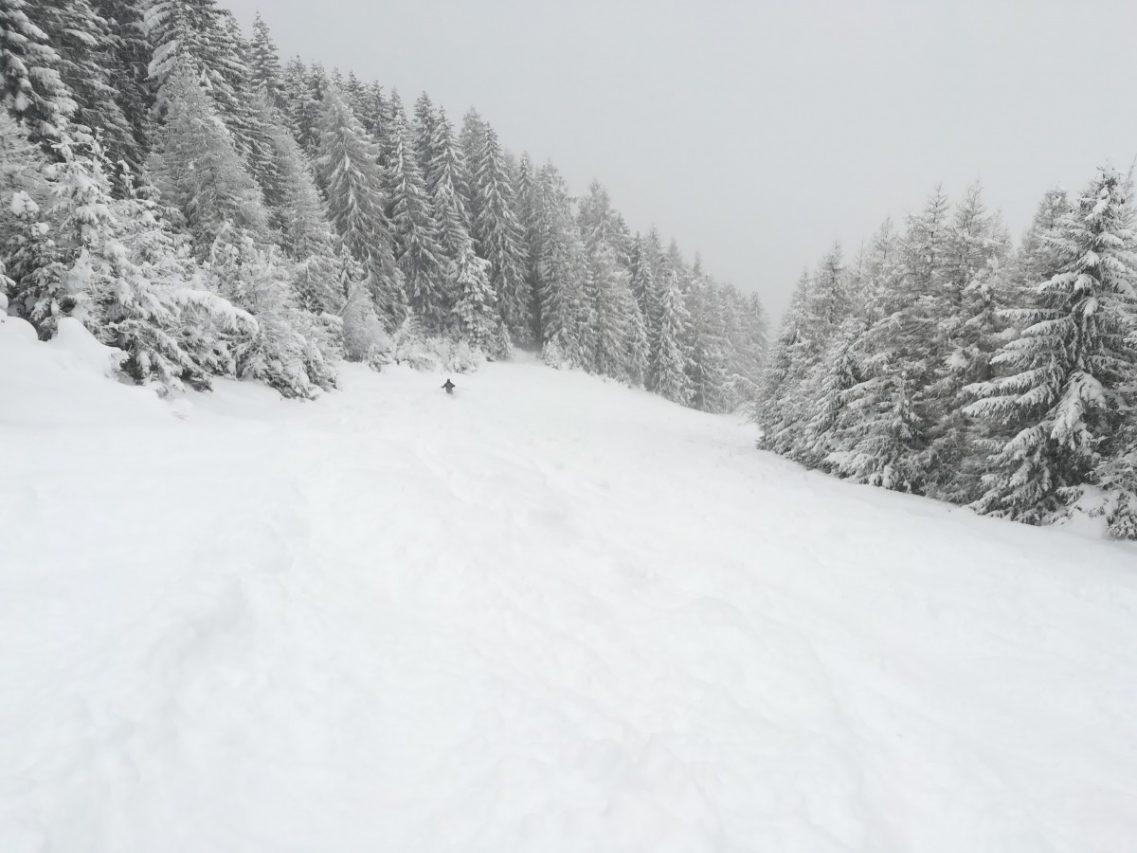 Extreme sneeuw