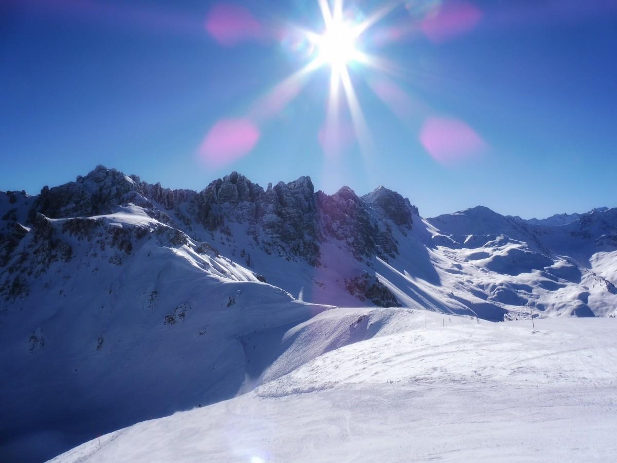 Snowboarden en skiën in Axamer Lizum