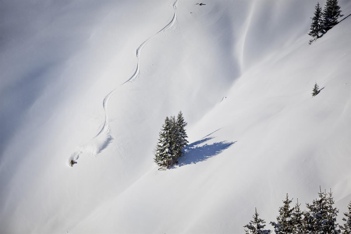 First track. Foto saalbach.com, Mirja Geh
