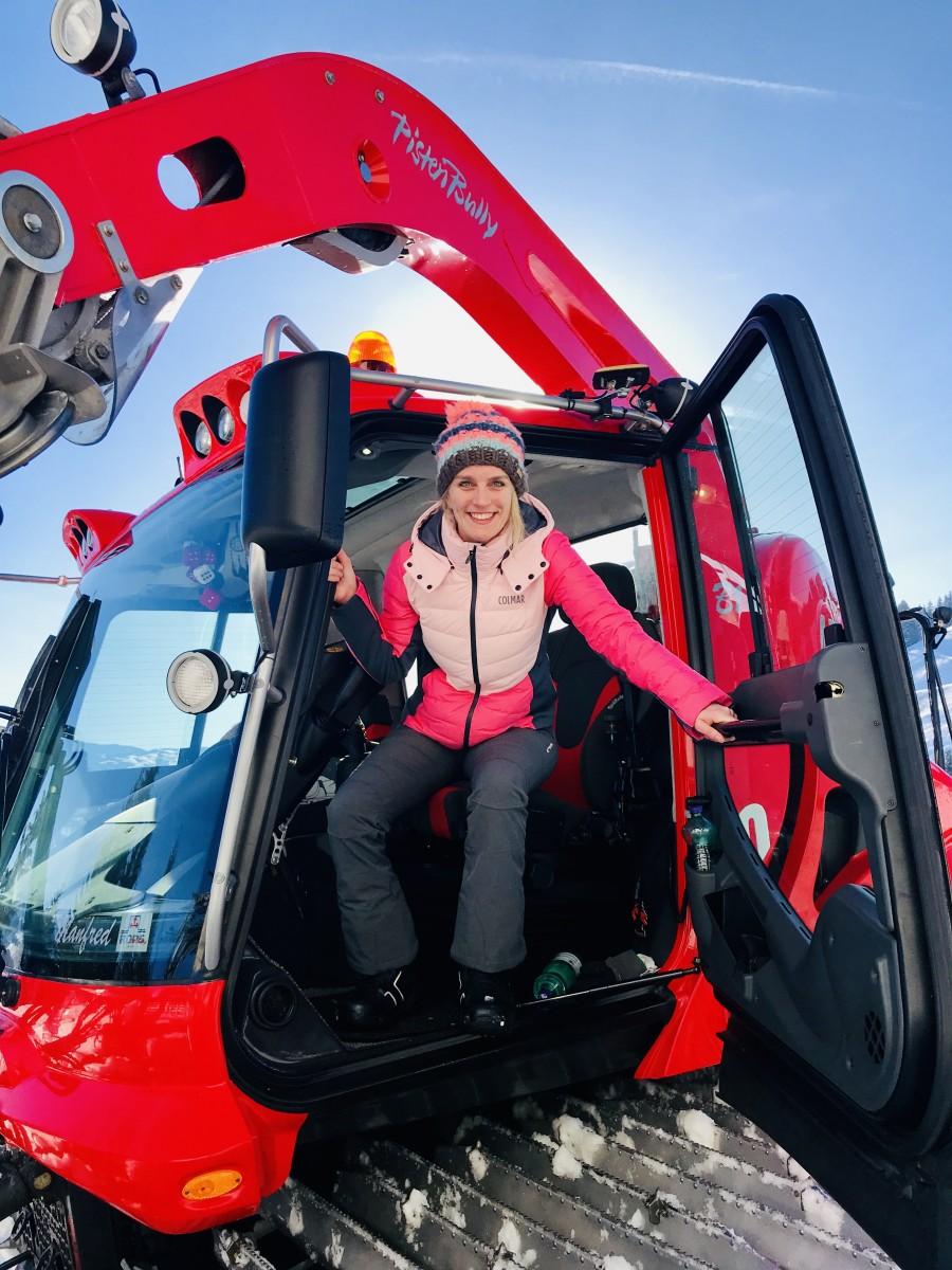 Wát een machine: door middel van GPS wordt de sneeuwhoogte tot 3 cm nauwkeurig gemeten