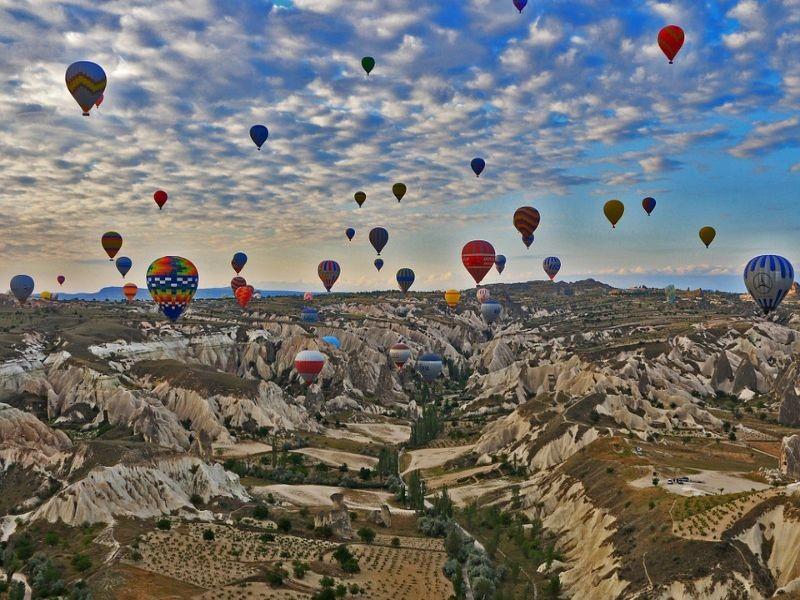 Combineer skiën in Turkije met een stedentrip naar Cappadocië