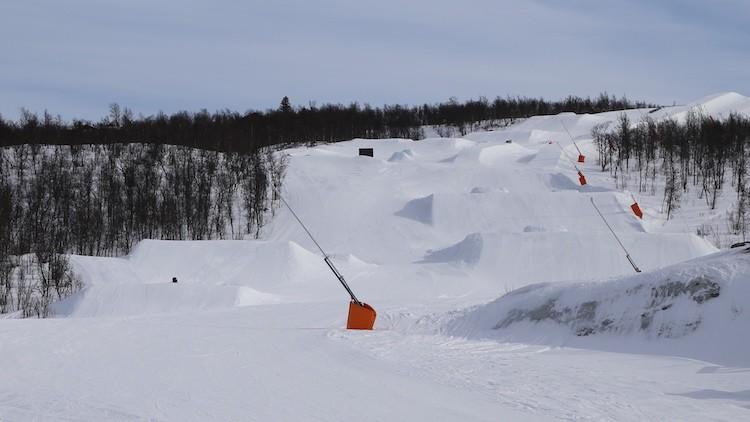 Eén van de funparken in Geilo, Noorwegen