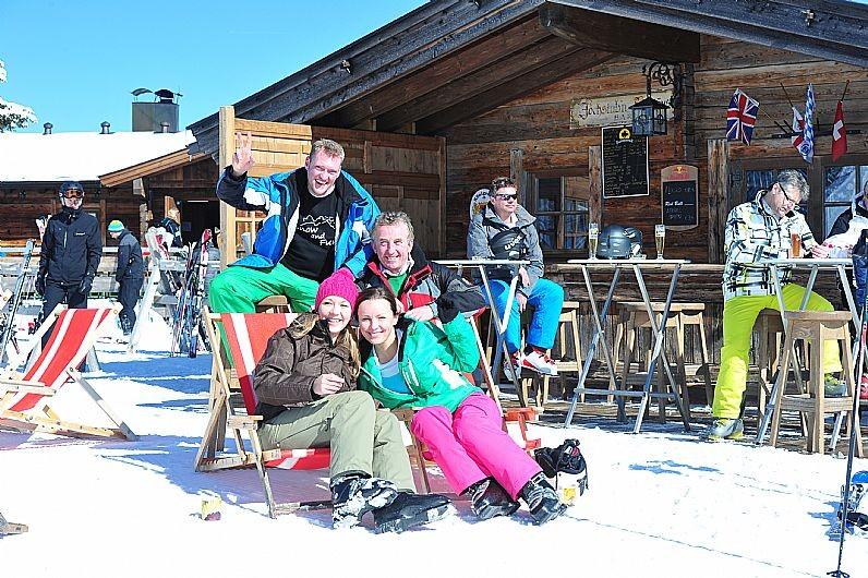 Eerst lekker skiën in de zon en dan een drankje! SkiWelt Wilder Kaiser - Brixental, Fotograf: Christian Kapfinger