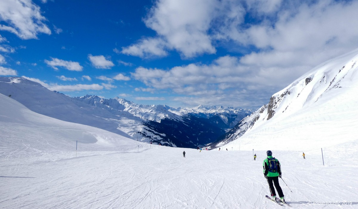 Hetzelfde skigebied