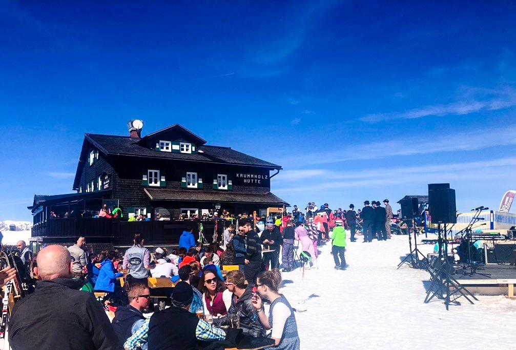 skihutten in Schladming
