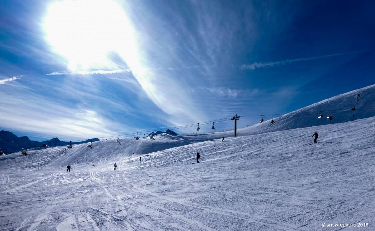 Skiën met Kerst