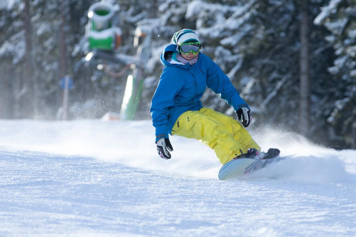 Snowboarden in Winterberg