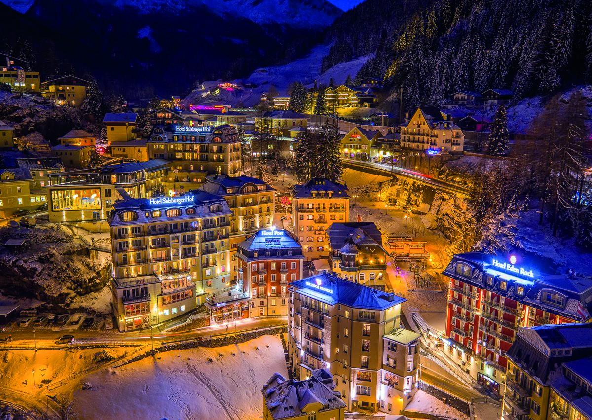 Winters plaatje in Gastein. Foto: www.salzburgerhof.com