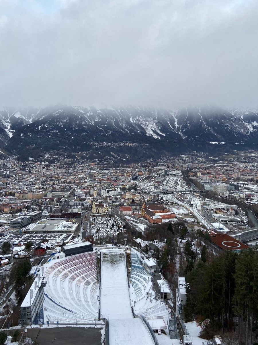 Bergiselschans Innsbruck Foto: Maaike de Vries