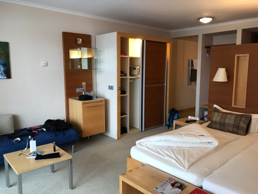 Hotelkamer Hotel Andy