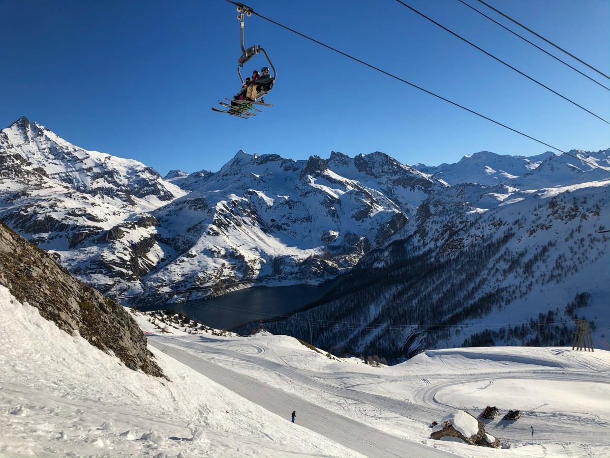 skilift springen