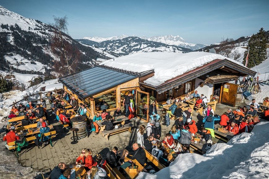 top 5 bergrestaurants Kirchberg