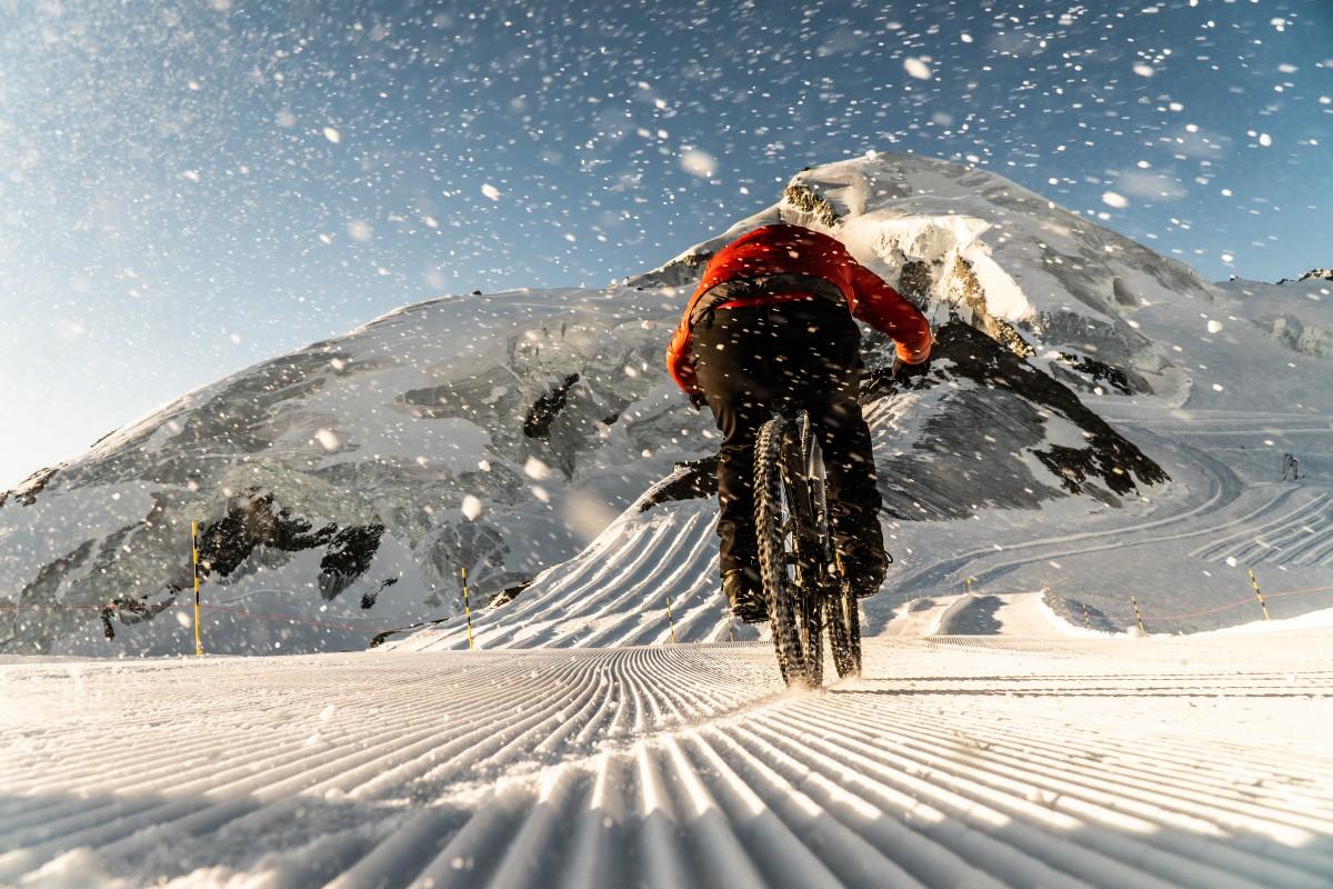 Glacier Bike Downhill Saas-Fee