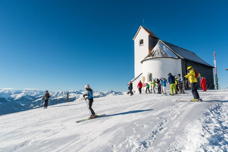En... Ga je ook nog in één van de andere gebieden skiën? Foto: Kurt Tropper