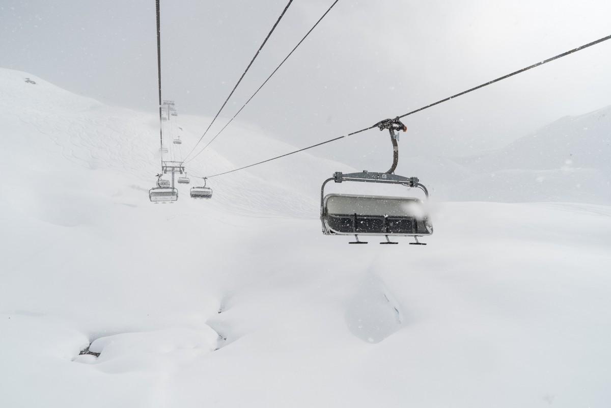 ongeluk met skilift