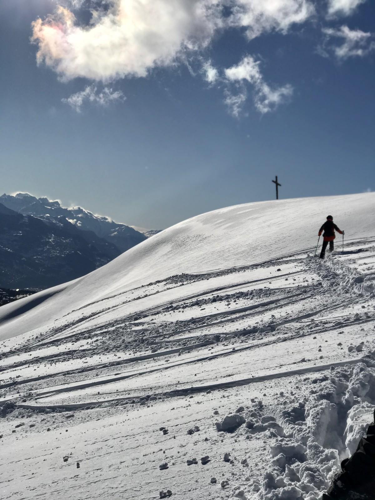 Off-piste skiën is goed voor je conditie... Foto: Pauline van der Waal