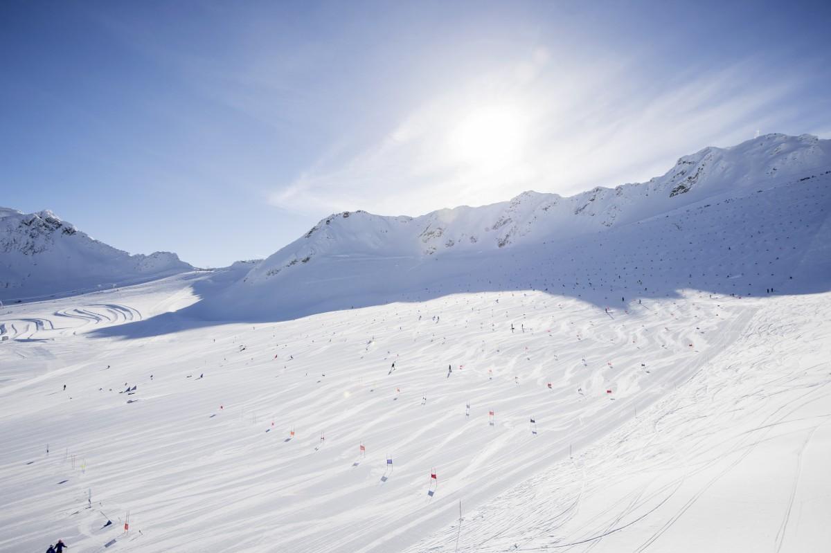 De brede gletsjer van het Schnalstal ©Schnalstaler Gletscherbahn Alex Filz