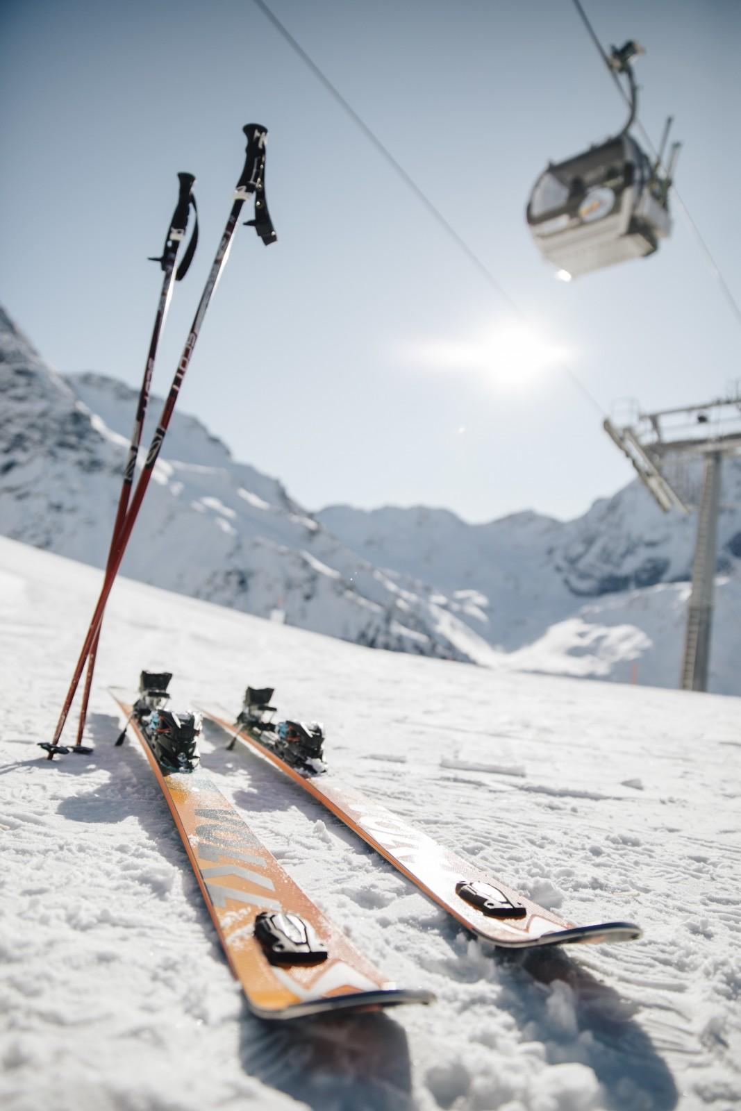 Prachtig skiën in Sulden. Foto: DM Südtirol Benjamin Pfitscher