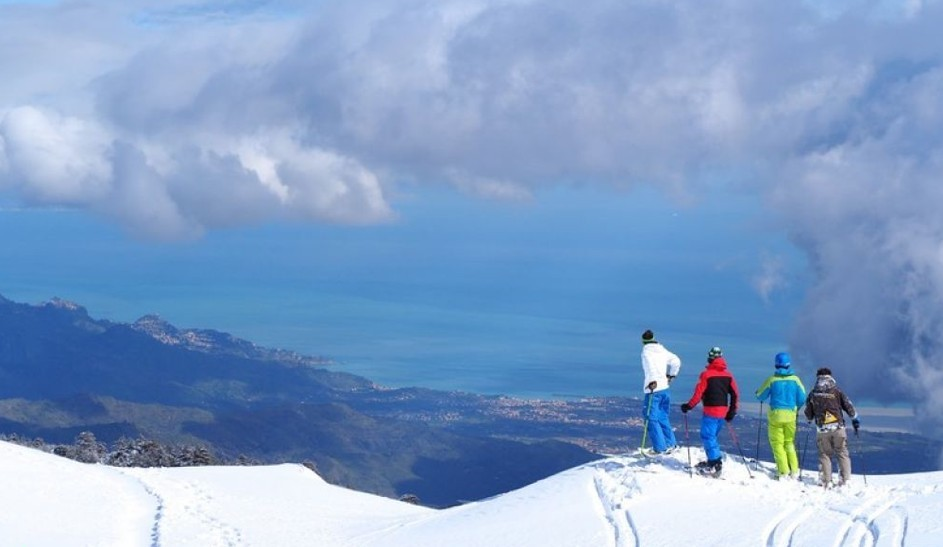 vreemde plekken skiën