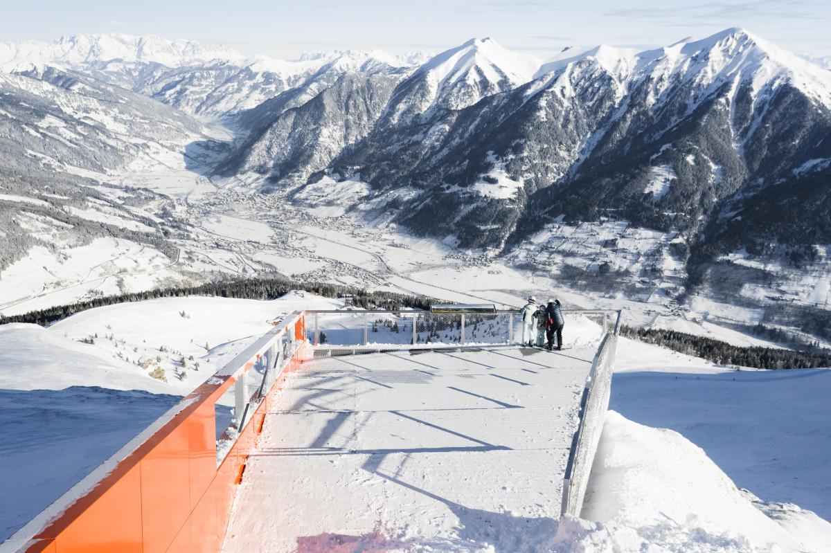 Geweldig uitzicht over het dal. (C) Gasteinertal Tourismus GmbH_ Marktl Photography