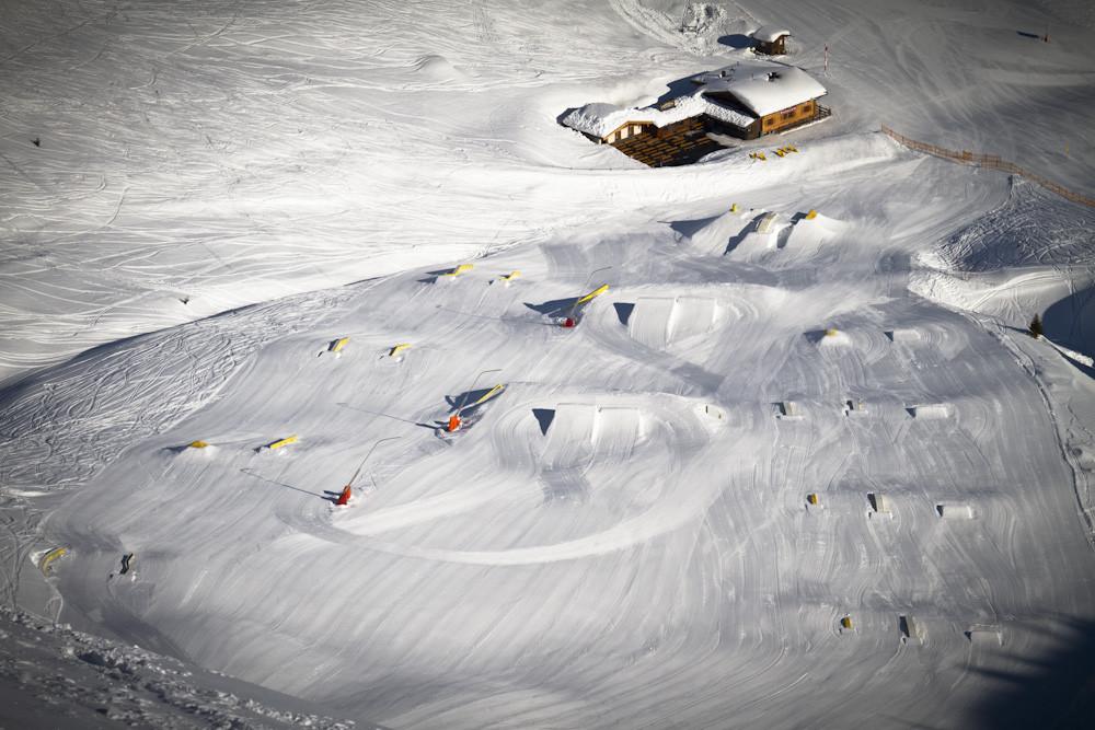 Extra fun in het Snowpark. Foto: Gastein Roland aschka QParks