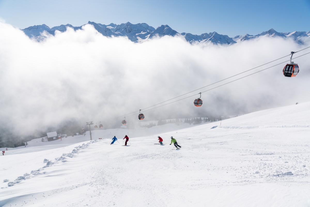 Heerlijk skiën op de prachtige pistes in Gastein. (c) Gasteinertal Tourismus GmbH, www.oberschneider