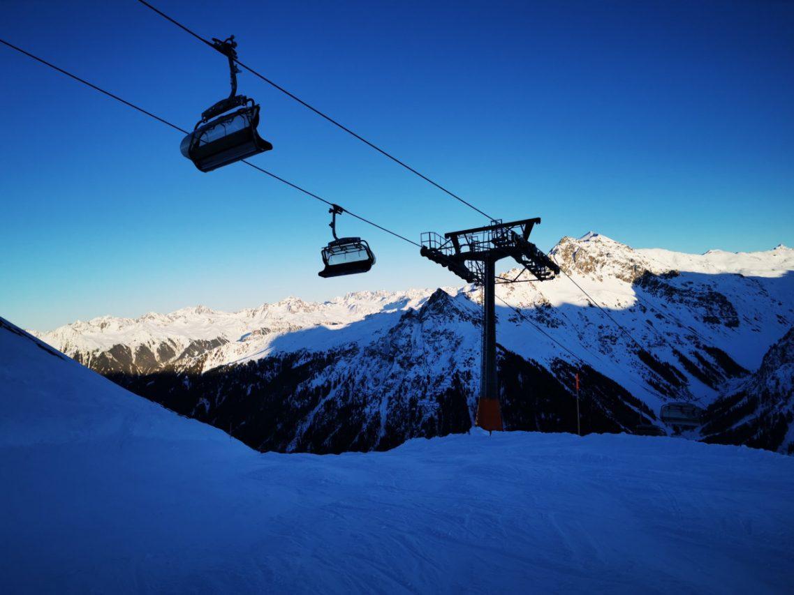 lege skiliften in Frankrijk