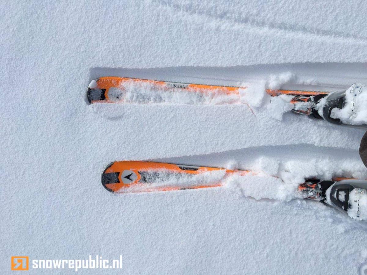 aankomst wintersportbestemming