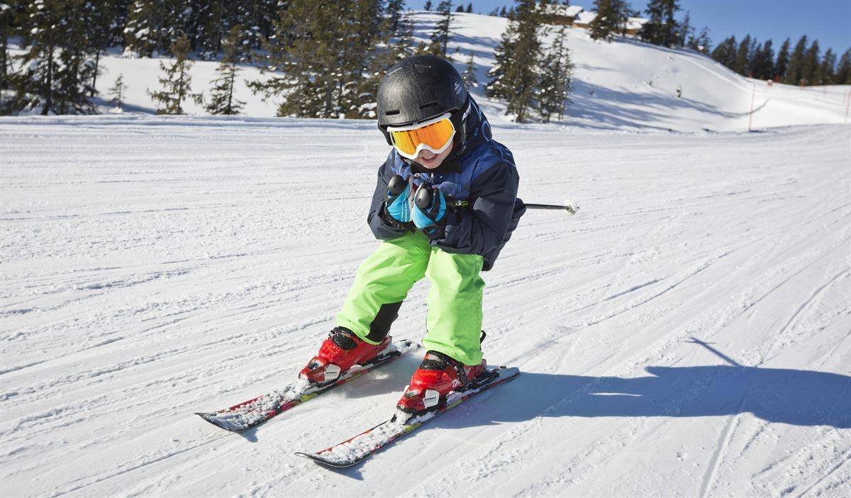 skigebied kinderen