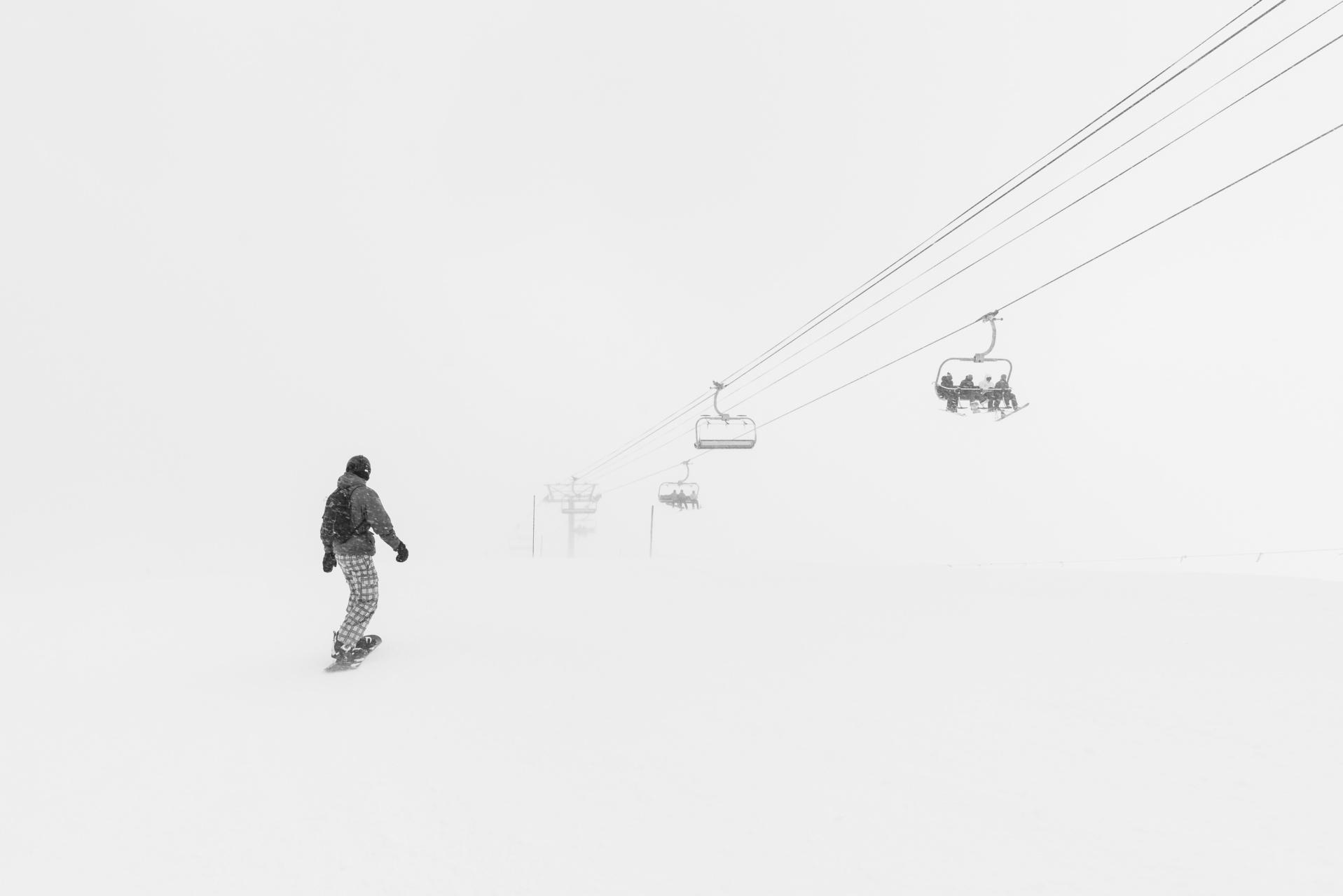 sneeuwval alpen